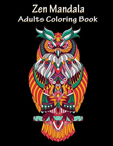 Zen Mandala Adults coloring book: Coloring made you relax, stress less, meditation and mindfulness. Mandalas is the perfect way to escape from stress, help to concentrate and - Jim Jones Kostüm
