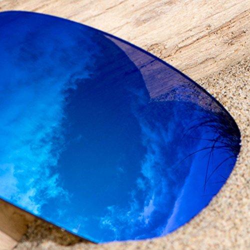 Verres de rechange pour Oakley Fives Squared — Plusieurs options Polarisés Elite Kiwanda Bleu MirrorShield®