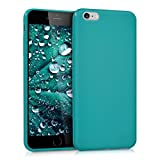 kwmobile Apple iPhone 6 Plus / 6S Plus Hülle - Handyhülle für Apple iPhone 6 Plus / 6S Plus - Handy Case in Petrol matt