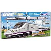 PEQUETREN - Renfe AVE S-102, tren con circuito de 6.6 m (710)