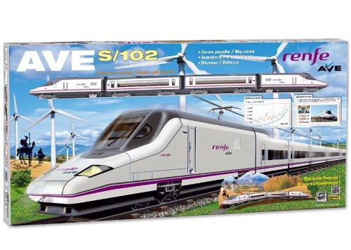 PEQUETREN- Renfe Ave S-102, Tren con Circuito de 6.6 m (710)