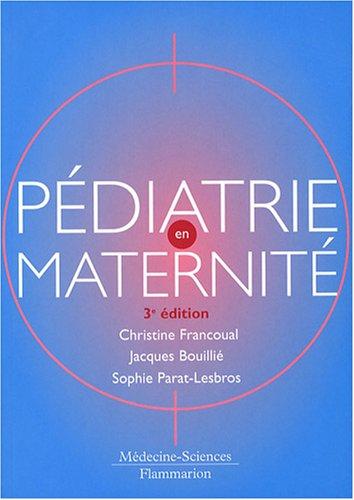 Pédiatrie en maternité