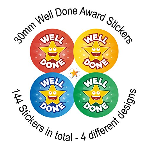 well-done-award-stickers-144-30mm-stickers-4-designs-primary-school-nursery