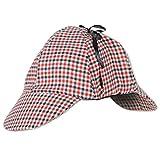 Beistle 60061'Schlapphut Hat, Tan/Schwarz/Rot