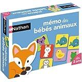 Nathan - 31053 - Jeu Éducatif - Mémo des  Bébés Animaux