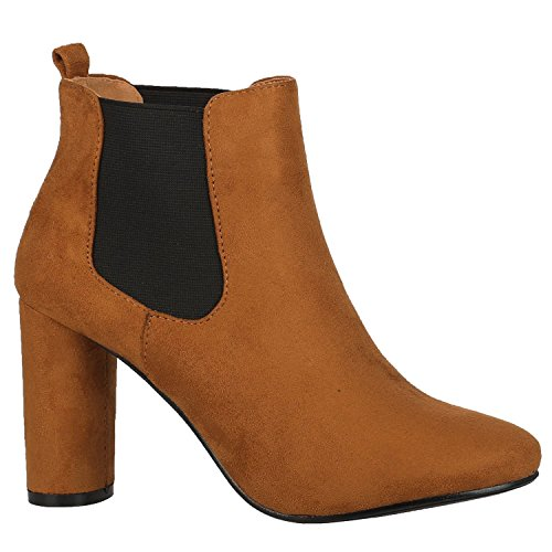 ByPublicDemand Toni Femme bottines Marron Camel