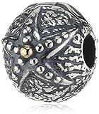 Pandora Damen-Charm-Clip Seestern 925 Sterling Silber 14-K-Gold 791164