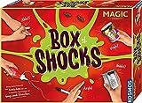 KOSMOS 698874 Box of Shocks Sammlung von Scherzartikeln, Gags und Tricks Komplettset mit Anleitung, Erschrecken, Schocken und Überraschen, für Kinder, ab 8 Jahren