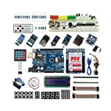 Kakiyi Progetto Starter Kit I2C Kit 1602 LCD Servo Gas Modulo LCD Starter Compatibile per Arduino