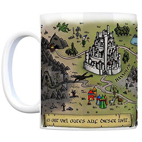 Nienhagen bei Celle Fantasy Kaffeebecher - eine Tasse als Geschenk zum Geburtstag für alle die Rollenspiele lieben! - 3