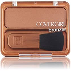 COVERGIRL Cheekers Blendable Powder Bronzer, Golden Tan 104, .12 oz