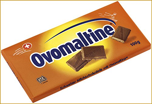 5x Ovomaltine - Schokolade - 100g