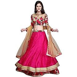 Shailaja Sarees Banglori Silk Saree (Ss::Ss1201_Pink)