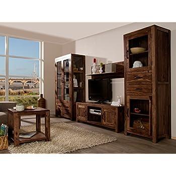 wohnwand mit holz cool amazing wohnwand in wildeiche massiv bianco geoelt hardbrushed woody. Black Bedroom Furniture Sets. Home Design Ideas