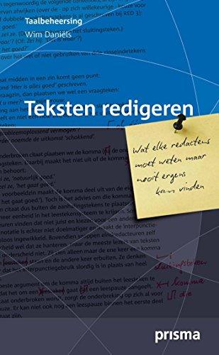 Teksten redigeren (Prisma taalbeheersing)