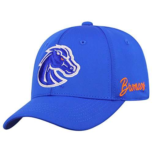 Top of the World NCAA Boise State Broncos Phenom Memory Fit 1fit Mütze Royal, verstellbar