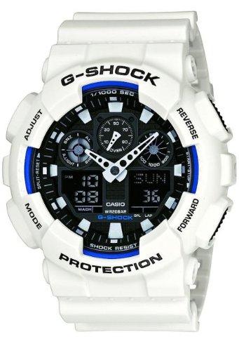 casio-g-shock-ga-100b-7aer-orologio-analogico-digitale-da-polso-da-uomo-resina-bianco
