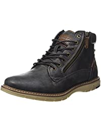 Low Noir Boots 601 bottines Mustang Femme Chaussure 1229 bgfY6v7y