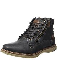 Low Noir Chaussure bottines Mustang 601 Boots 1229 Femme oxdrCBe