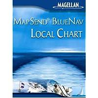 Magellan MapSend BlueNav lokale Diagramm