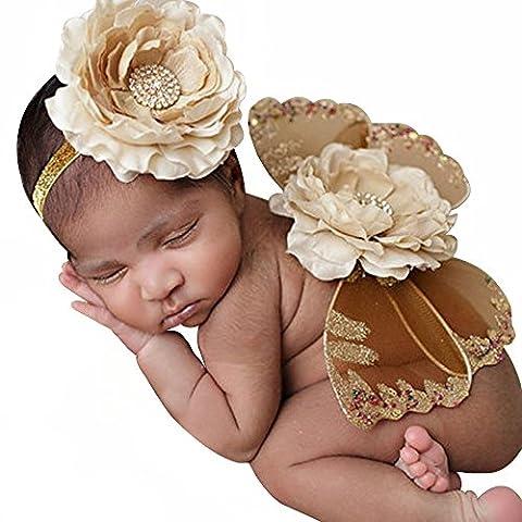 Bai You Mei - Robe - Bébé (fille) 0 à 24 mois - blanc - XX-Small