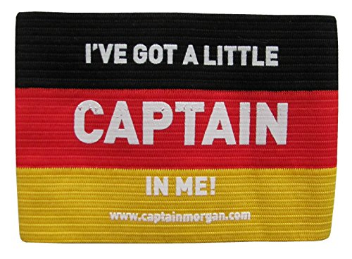 Preisvergleich Produktbild Captain Morgan - Captain Armbinde - I´ve got a little Captain in me