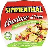 Simmenthal - Gustose di Pollo, Verdure in Agrodolce - 6 pezzi da 160 g [960 g]