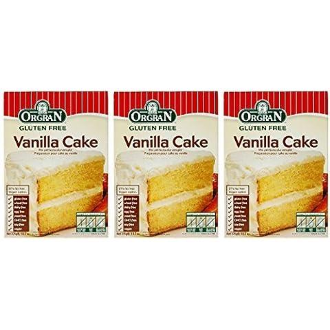 (3 PACK) - Orgran - Vanilla Cake Mix | 375g | 3 PACK BUNDLE by ORGRAN - Gluten Free