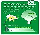 2er-Set AngLink Solar Katzenschreck Ultraschall abwehr mit Batteriebetrieben und Blitz - 9