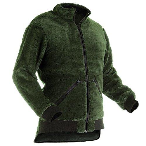 Pfanner warme Faserpelz Jacke Midland, Größe:XXL, Farbe:Olive