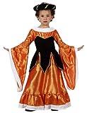 Atosa Disfraz de medieval para niña, talla 6 años (8422259107125)