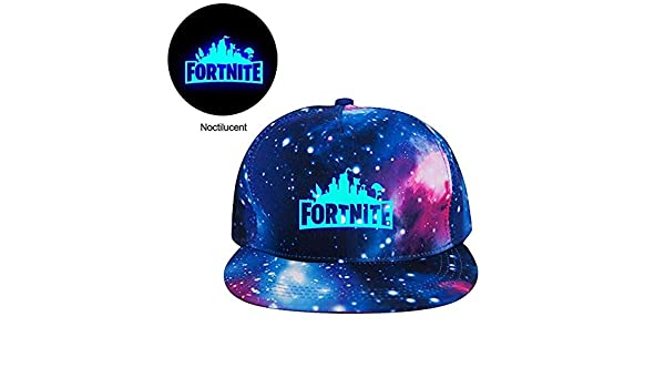 09c163a1802 Fortnite Luminous Baseball Cap UV Protection Cool Adjustable Battle Royale  Game Unisex Snapback Peaked Hat Sun Hat Lightweight Running Caps Boys Girls   ...