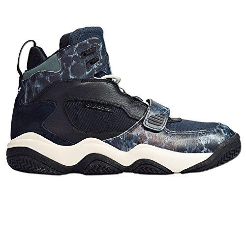 Adidas - FYW REIGN - Basketballschuh - Mid Top Sneaker - Schwarz / Blau / Weiß Schwarz
