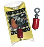 You can attract many birds with the Audubon Bird Call, a little birch-wood and pewter device that chirps and twitters- imitating several birdcalls- when you twist it. Easy to tuck in a pocket or backpack, or carry around your neck on a string. Handcr...