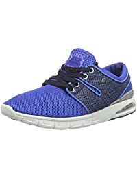 British Knights Men's Tempo Royal Blue And Navy Mesh Sneakers