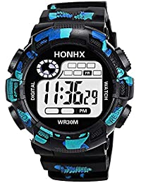 Men Watches,Sports Watch,Cheap Analog LED Digital Watches Military Style Waterproof Boys Sport Watches by LuckUK