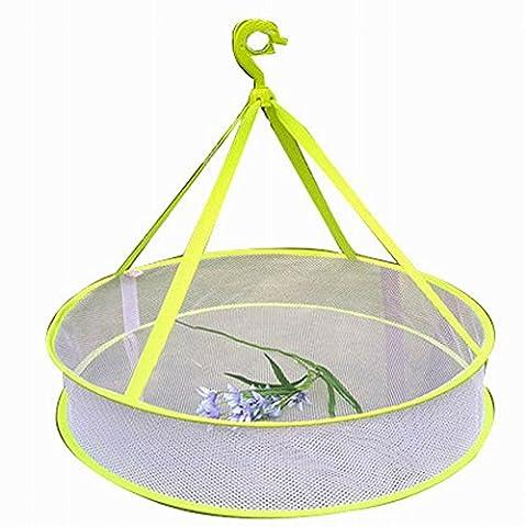 Ménage Vêtements Chandail Etendoir / Net pratique Hanging séchage Basket, 18 ''