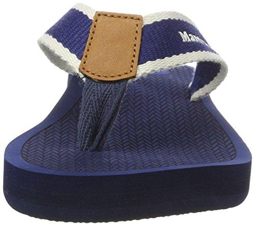 Marc O'Polo Damen 70314031001611 Beach Sandal Blau (Dark Blue)