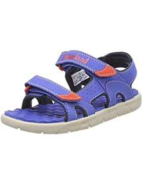 Timberland Perkins Row 2-Strap Bright Blue Synthetic Youth Strap Sandals