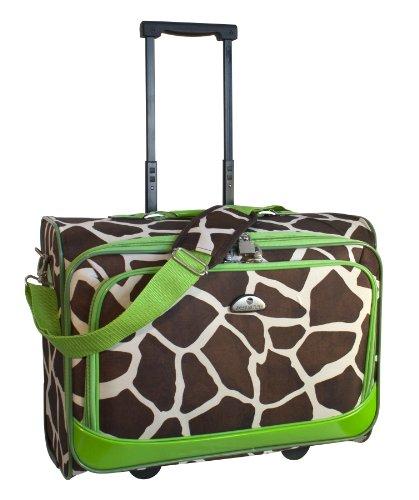 american-flyer-luggage-animal-print-underseater-giraffe-green-one-size