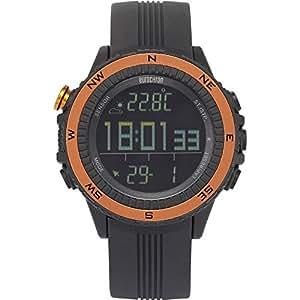 Montre à bracelet EQAS 400 (Ø x h) 51 mm x 14.5 mm anthracite Matériau d