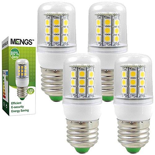 4X MENGS® E27 LED Lampe 5W 7W 9W AC 220-240V Kaltweiß 6000K 5050 SMD