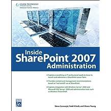 Inside SharePoint Administration