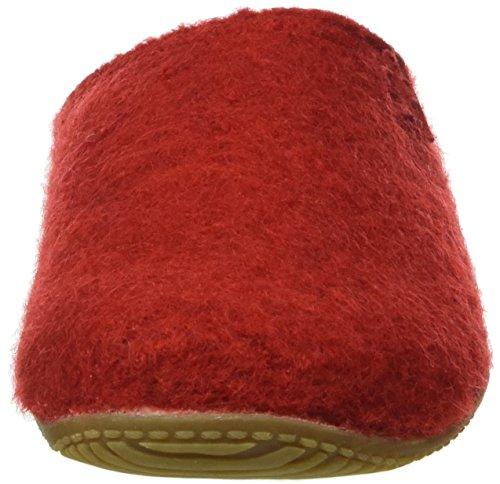 Living Kitzbühel Pantoffel, Ciabatte Donna Rosso (Rot (Rot 350))