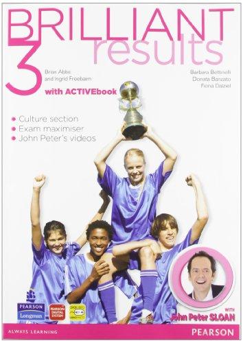 Brilliant results! Student's book-Workbook. Per la Scuola media. Con espansione online: 3