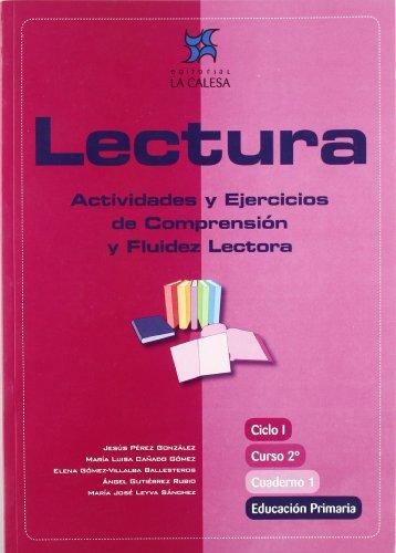 Lectura, actividades y ejercicios de comprensión y fluidez lectora, 2 Educación Primaria. Cuaderno 1