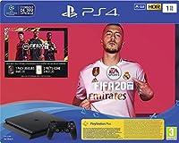 CONSOLE PS4 1To SLIM F + FIFA 2020 - PS4PS4 SLIM 1 Tb F Black + FIFA 20 + PS Plus Voucher 14 Days