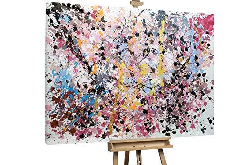 'Verkehrte Welt' 200x150cm | Abstrakte Kunst Bunt Deko | Modernes Kunst Ölbild