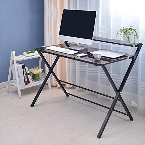 agbarer Stand Laptop Tisch für Schlafsofa Laptop Schreibtisch Einstellbare Stopper Leiste Student Wohnheim Home Office Mobile Laptop Schreibtisch Wagen,B ()