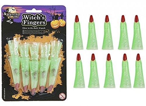 10?Hexe/Hexen fingers- halloween- Glow in the Dark